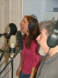 Corey Dolgon and Mary Chayko recording